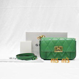 NWT Givenchy Green Convertible Belt Crossbody
